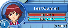 Tamer and Digimon Status View