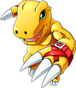 Main Visual Element - Agumon
